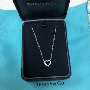 🔴Authentic TIFFANY & CO 18K Diamonds Necklace❤️🔴